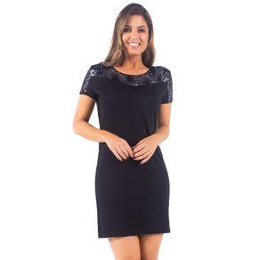 vestido-curto-bana-bana-preto-com-paete
